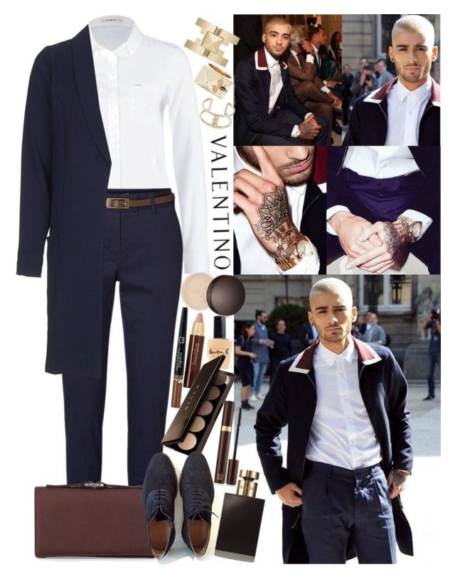 """""""In the «Valentino Fashion Show» in the framework of the Paris Fashion Week with Zayn"""" by valeria-angel ❤ liked on Polyvore featuring Hourglass Cosmetics, Lee, Lauren B. Beauty, Vero Moda, Love, Becca, Valentino, Louis Vuitton, Tom Ford and valentino"""