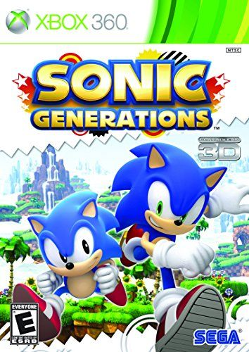 Sonic Generations Xbox 360 Decals Pinterest Juegos Retro