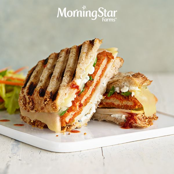 Take something a lil' spicy and pair it with something a little pear-y for a panini that pops with flavor.