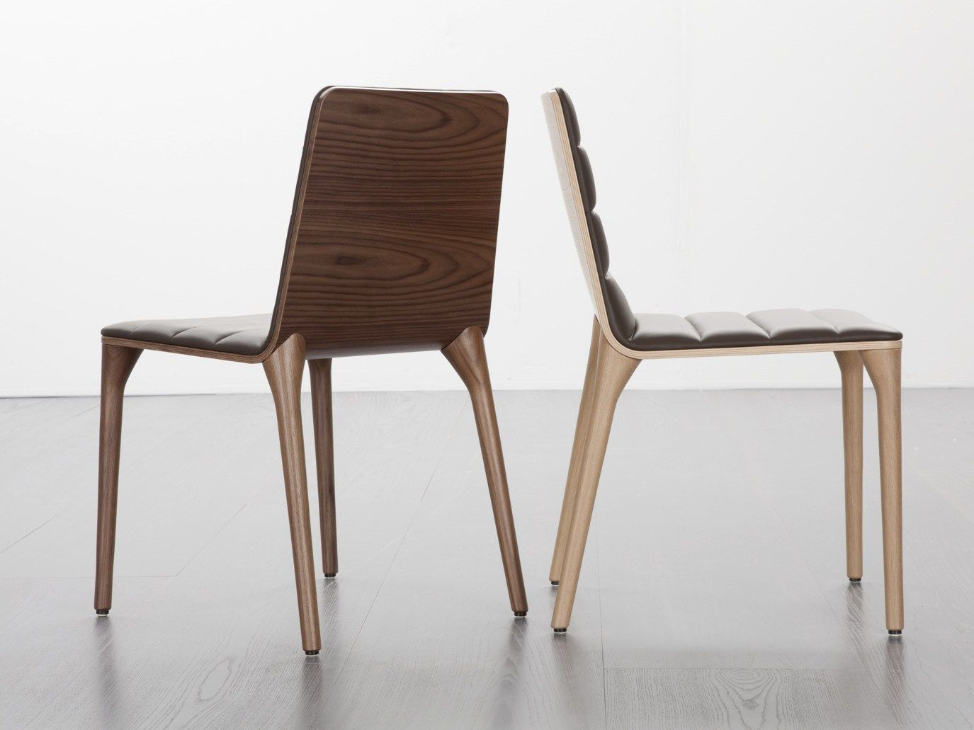 Wooden Chair PIT 284 Pit Collection By Tonon