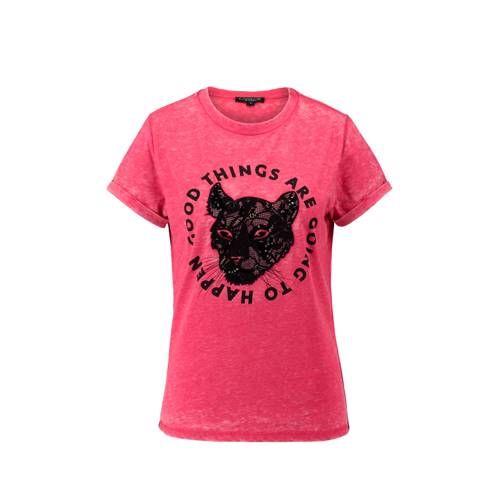 4b95dc5f95b7ba CoolCat T-shirt met kant in 2019 | Products - T shirts, Kant en ...