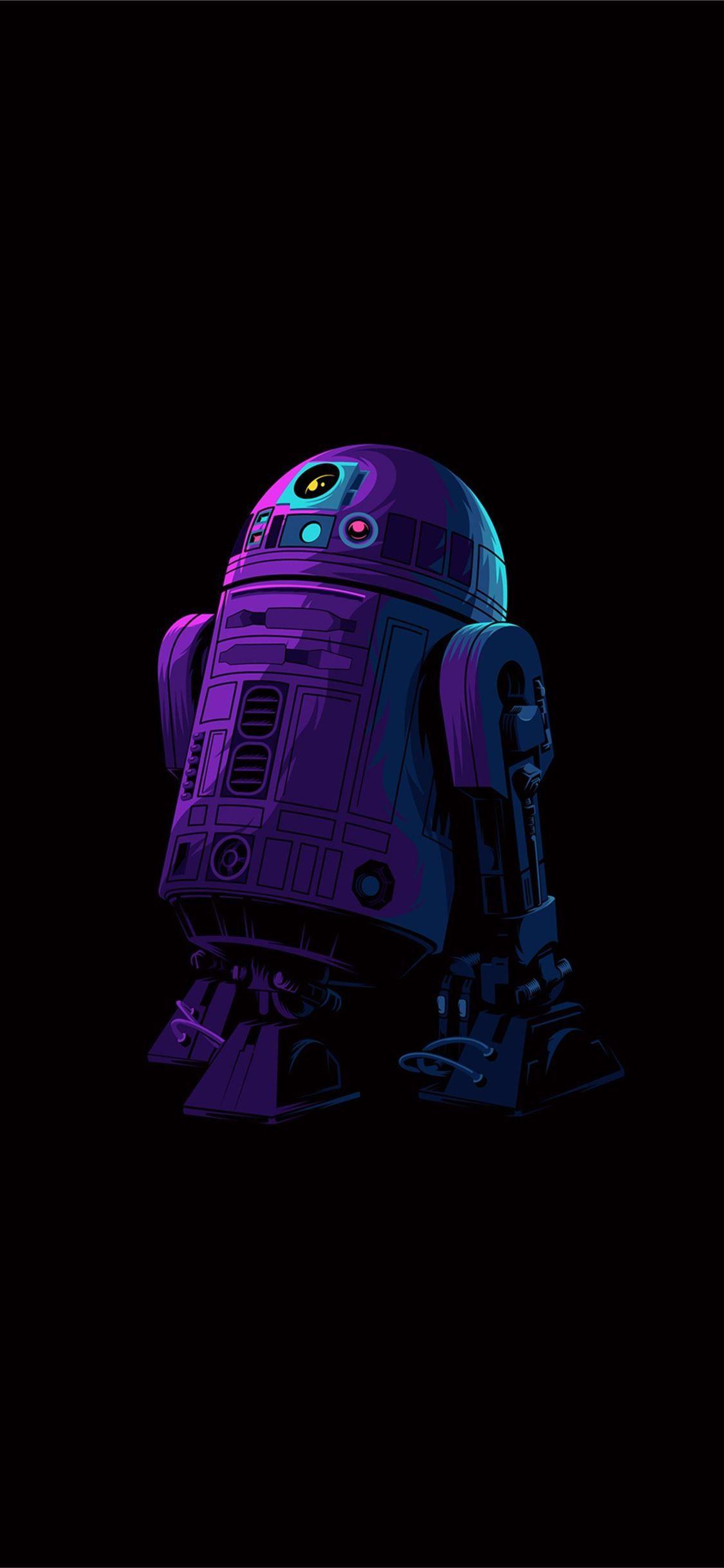 R2dr Minimalism Starwars Toy 4k Minimalism Artist Movies Iphone11wallpaper In 2020 Star Wars Wallpaper Star Wars Artwork Star Wars Art