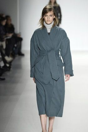 Fall 2014 Fashion Trends You Need Now Grey Coat