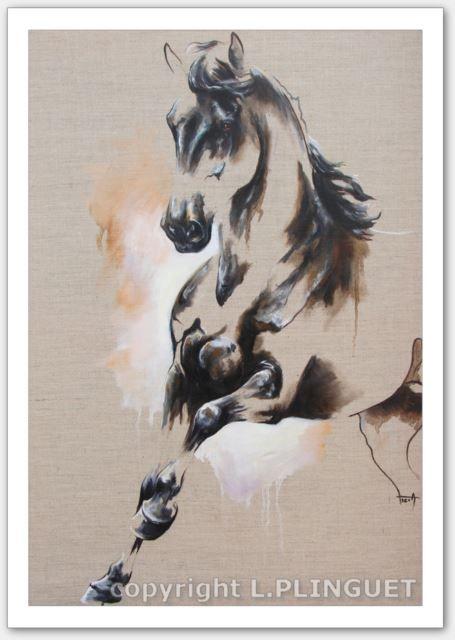 Tempurale Cheval Aquarelle Art De La Chevalerie Et Painted Horses