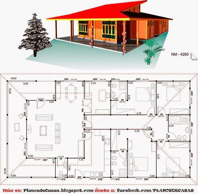 Planos de casas prefabricadas proyecto de vida for Casas de campo prefabricadas