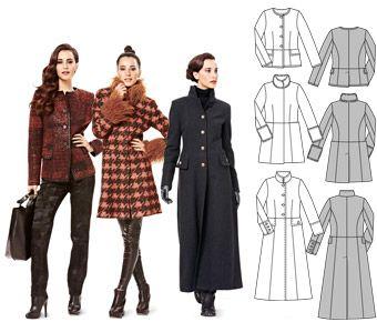 Couture manteau femme patron