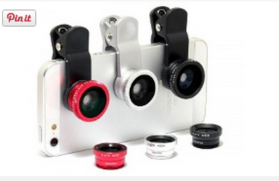 Make a Clip for your Phone For Lenses