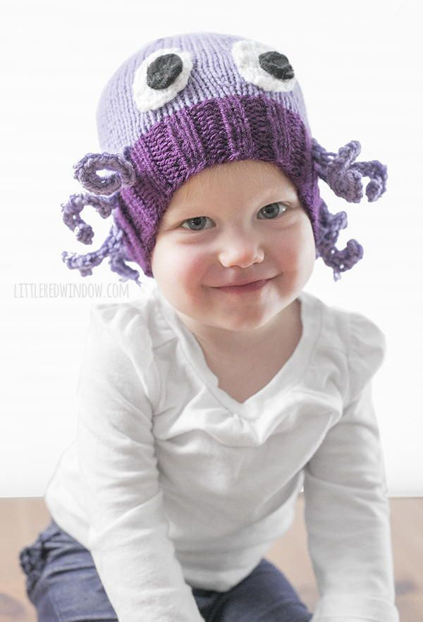 Mini Octopus Baby Hat