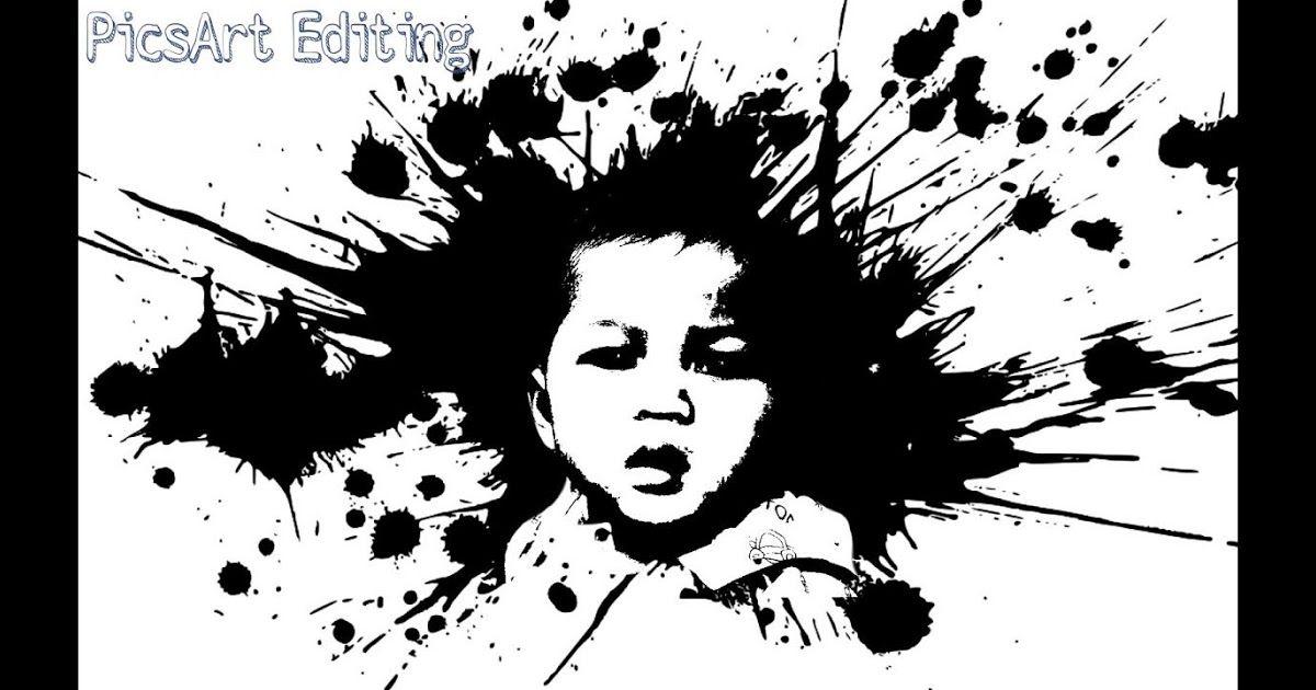 Terkeren 12 Gambar Manusia Hitam Putih Keren Cara Edit Foto Jadi Hitam Putih Keren Picsart From Www Youtube Com Orang B Lukisan Abstrak Ilustrasi Abstrak