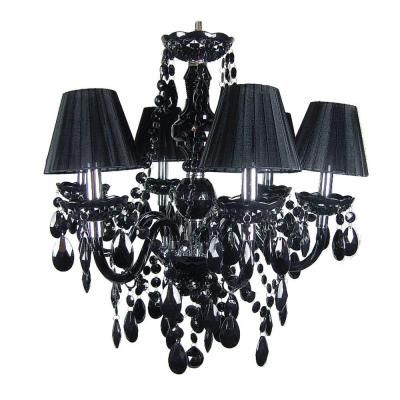 Roxy Lighting Concerto 6-Light Black Chandelier Model # 708C/6BK; Internet #  sc 1 st  Pinterest & Roxy Lighting Concerto 6-Light Black Chandelier Model # 708C/6BK ... azcodes.com
