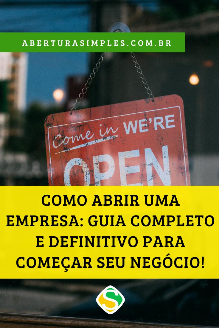 Como Abrir uma Empresa Guia Completo e Definitivo ...