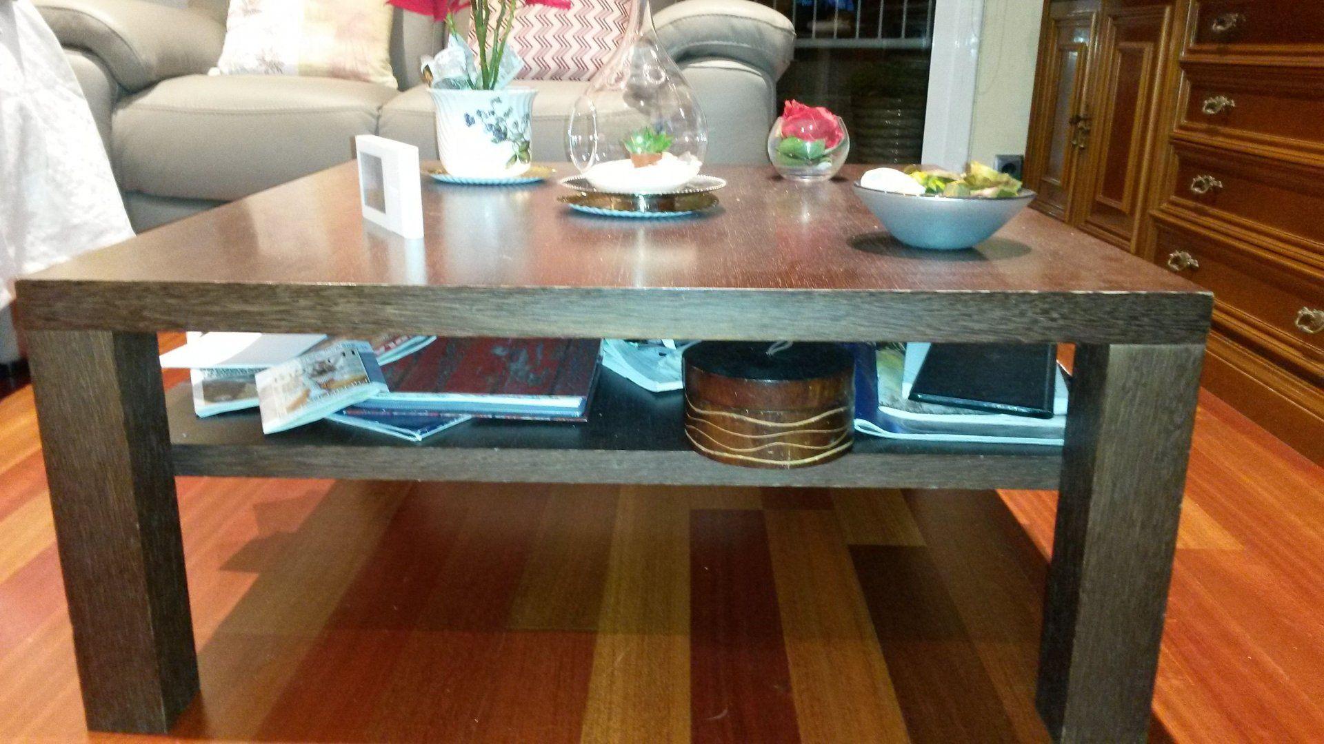 100,00€ · mesa de centro · Mes de centro de madera color marron ...