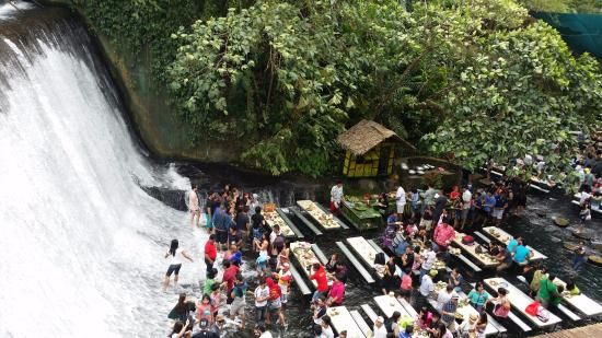 10 Most Amazing & Exotic Restaurants - waterfall restaurant, small restaurant #smallrestaurants