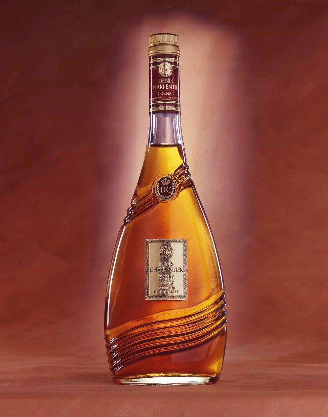 Denis Charpentier Vsop Superior Cognac Memento Linea Liquor Bottles Bottle Strong Drinks