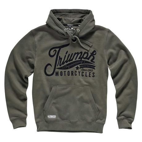 triumph custom hoodie for men | triumph motorcycles | the triumph