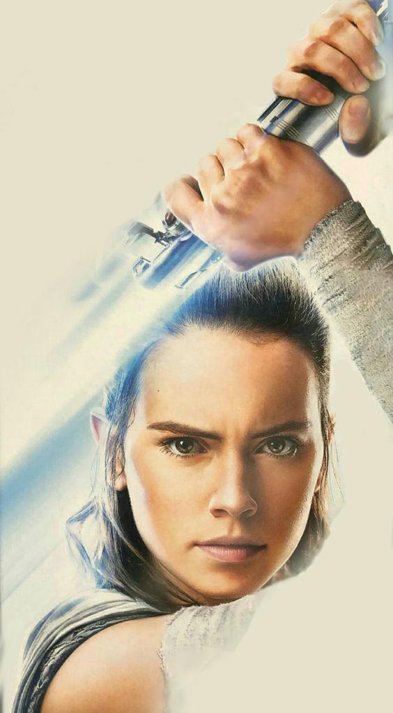 Rey The Last Jedi - Edit