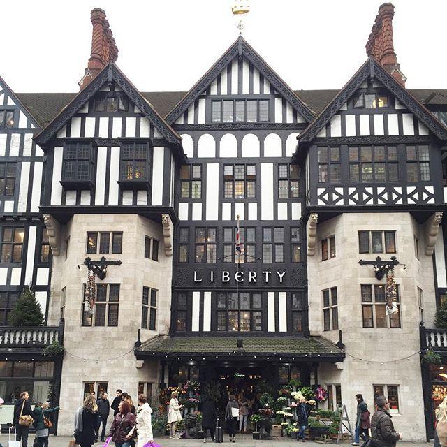 #Liberty #London #shopping