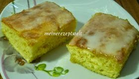 Zitronen Blechkuchen-Limonlu kek, meinerezepte ...