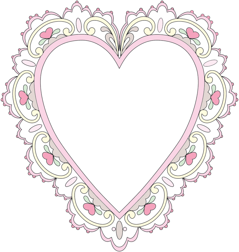Sizzix Heart Scallop cards - Google Search