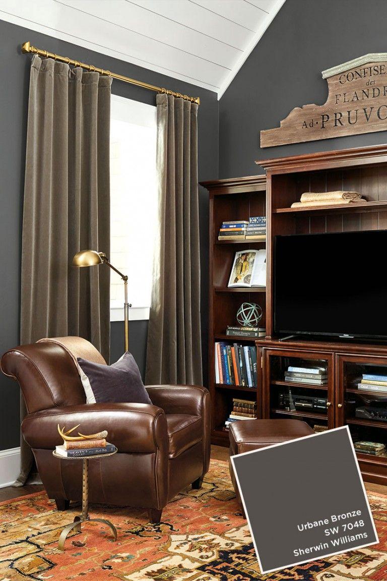 January/February 2017 Ballard Designs Paint Colors   Bronze living room, Bronze bedroom, Office ...