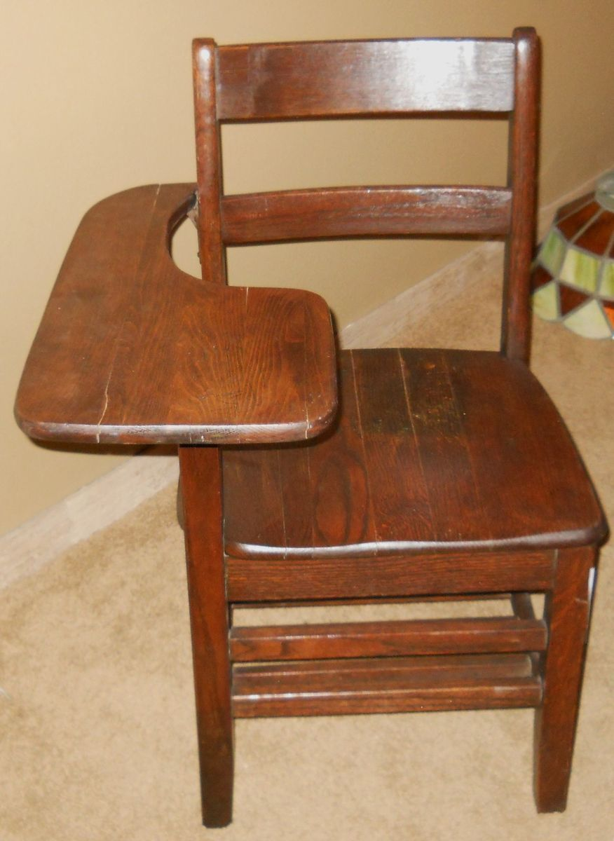 Very Nice Antique School Desk Chair from USAF Air Force - Very Nice Antique School Desk Chair From USAF Air Force Things I