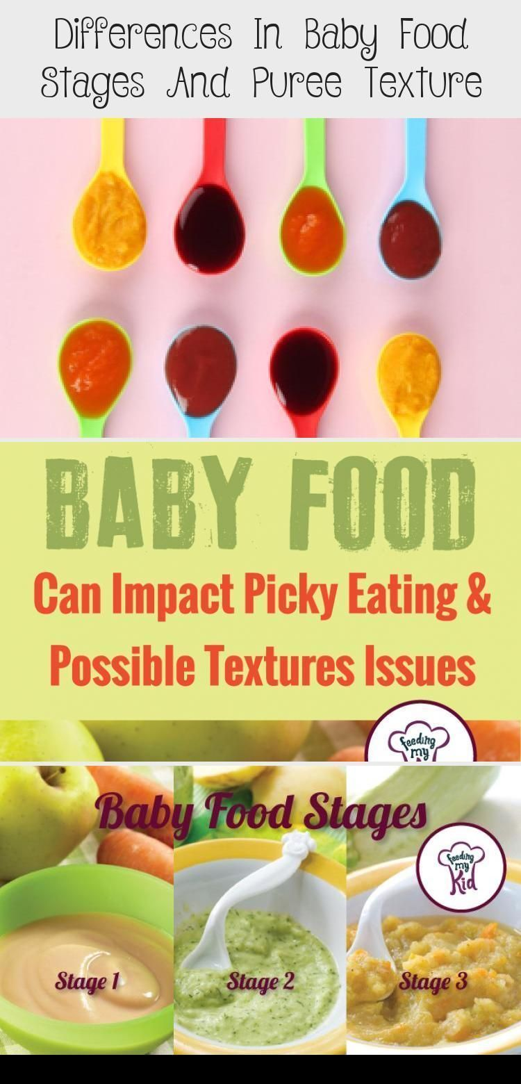 I Had No Idea What Stage 1 2 Or 3 Baby Food Meant There Are Three Kinds Of Con Homemade Bab Pureed Food Recipes Easy Baby Food Recipes Baby Food Recipes