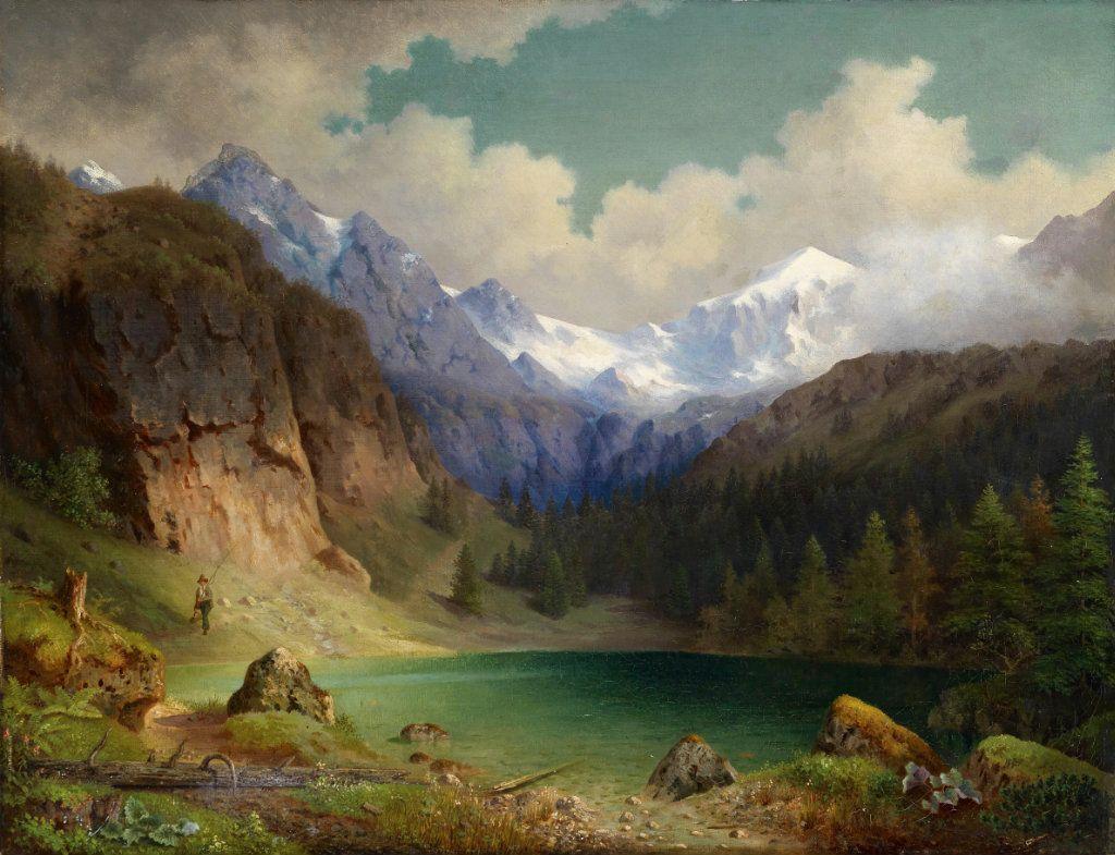 выбрать картина альпийская идиллия этот