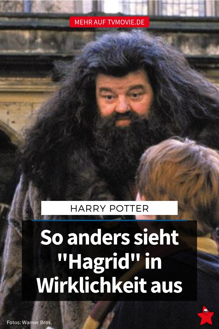 Hagrid Aus Harry Potter So Anders Sieht Der Darsteller Privat Aus Angsteinflossend Darsteller Harry Potter