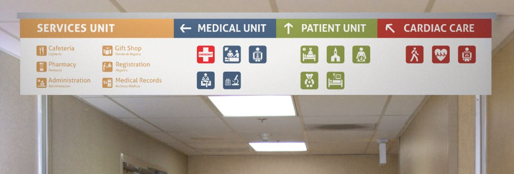 Hospital Signage Google Search Hospital Signage Wayfinding System Wayfinding