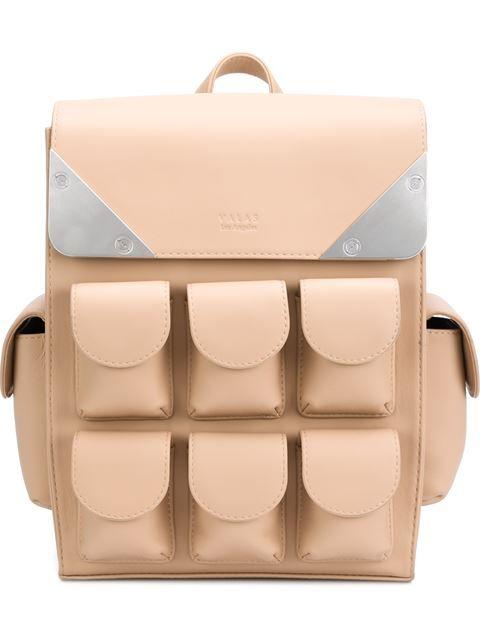 Valas multiple pockets small backpack