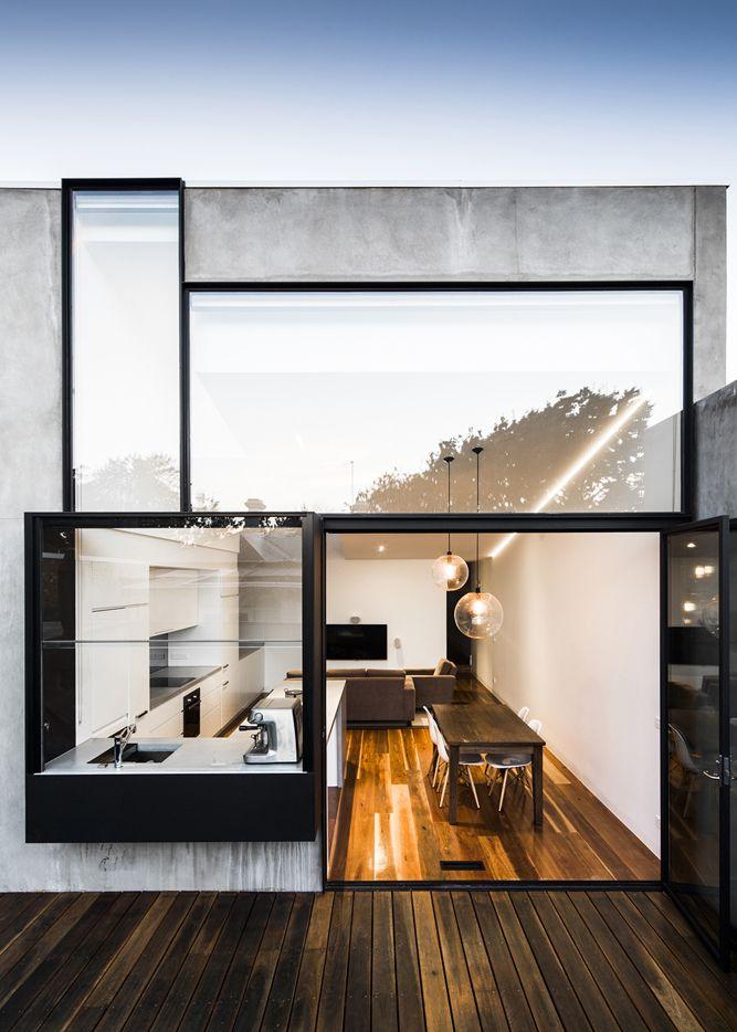 Exterior. Facade. Glass. Mirror. Home. Architecture. Design. Modern ...