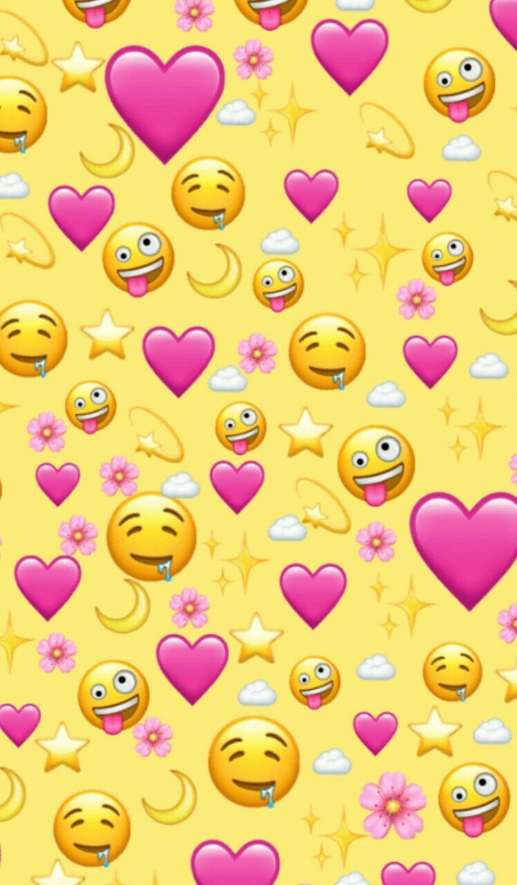 Pin By Cecy On Emoji Wallpaper In 2020 Wallpaper Iphone Cute Emoji Wallpaper Iphone Cute Emoji Wallpaper