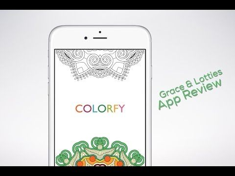 Colorfy Plus Coloring Book Mod Youtube Colorfy App Reviews Simple App