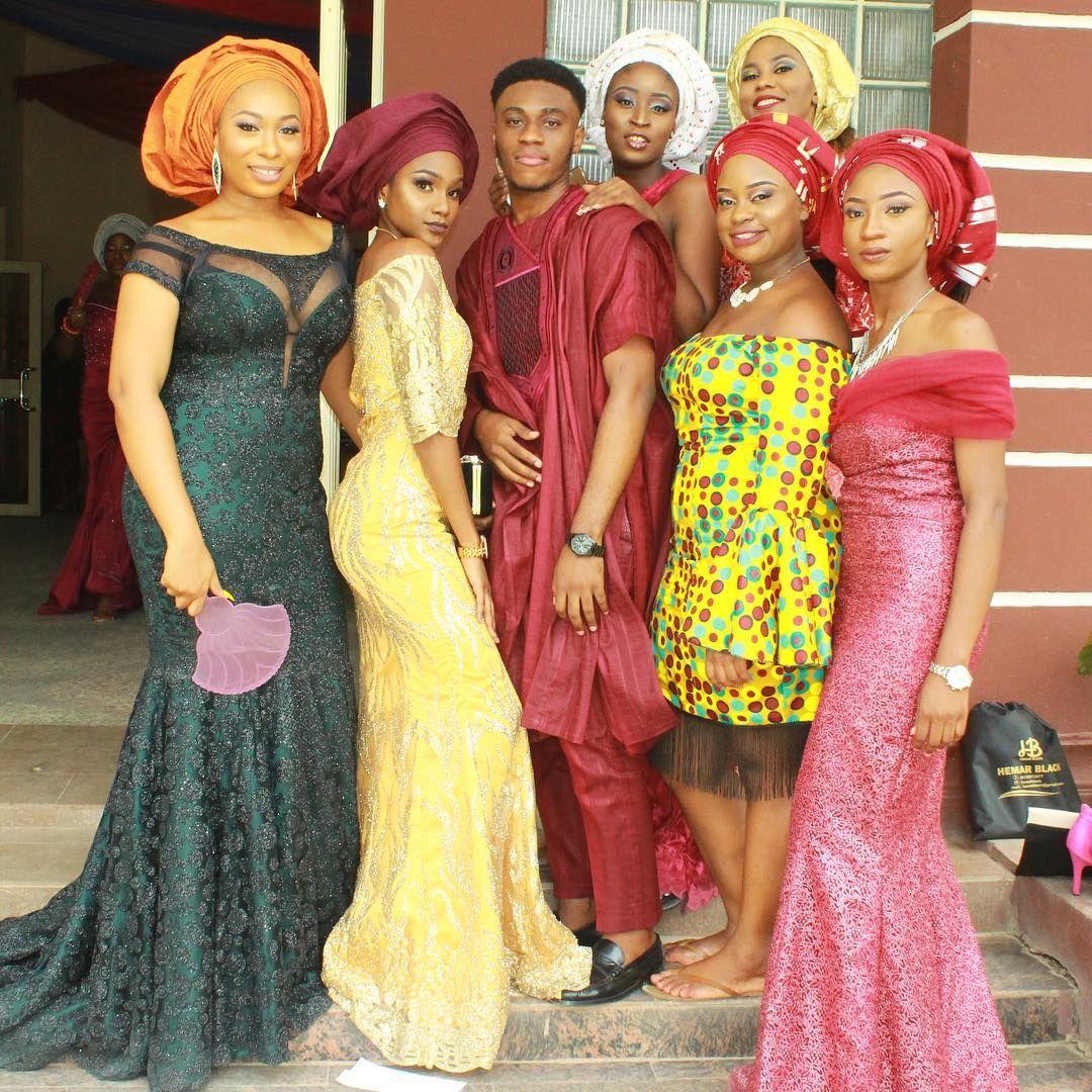Grad #AsoEbiBella - Congratulations!❤️ @kolapo__o, @vivian_ajibola, @therealmadam_oge, @didinwokedi, @boukiee, @dinma_e, @tahlee.e #AsoEbiBella