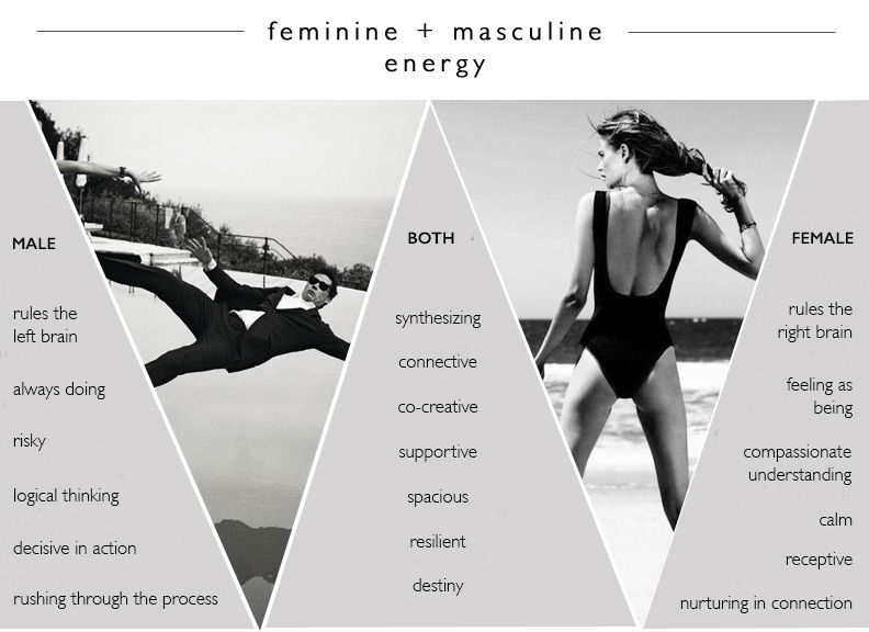 masculine energy woman