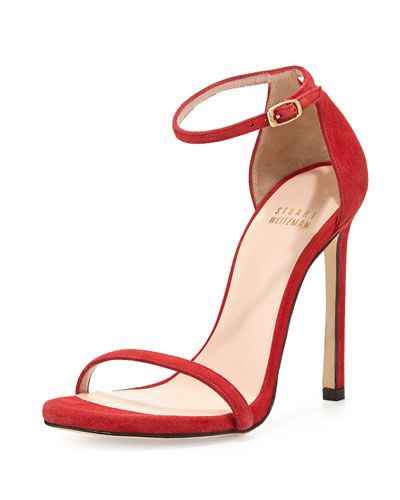 Strap pumps - Red Stuart Weitzman