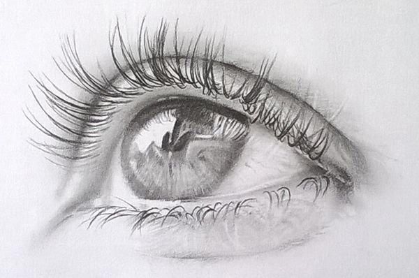 Tattoo Images Eye Of Rye: Pencil. Drawing The Eye