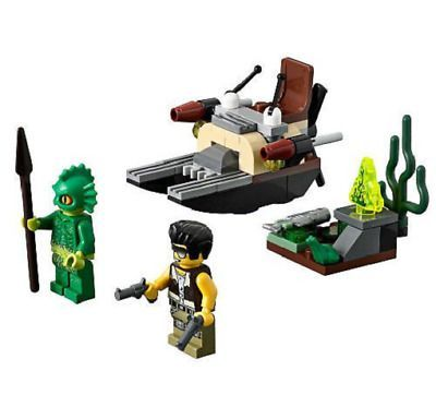 LEGO Monster Fighters THE SWAMP CREATURE Set 9461 NEW with Minifigures