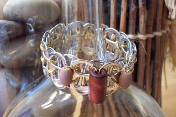 Bracelets with a Conscience  Pecan by AnnMadeArt on Etsy
