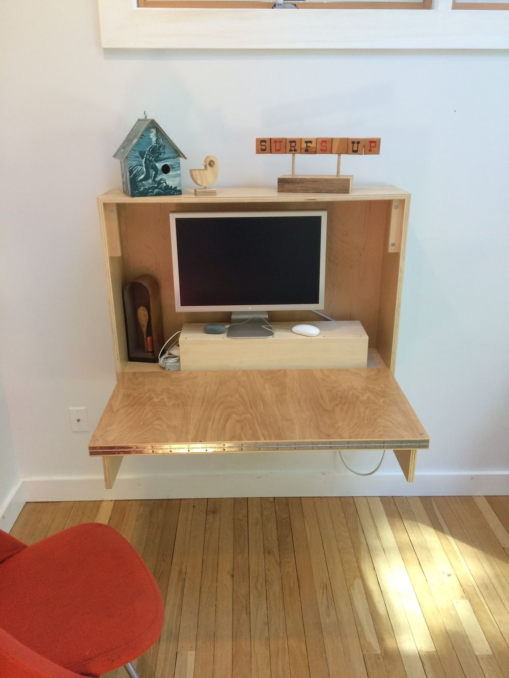 HOW TO FOLDUP WALL DESK (With images) Desks for small