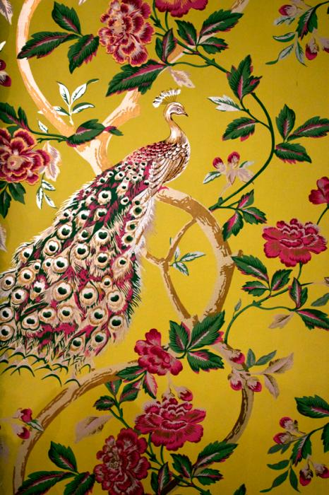 Rottencupcakes Julie Mack S Design Blog Page 2 Peacock Wallpaper Wallpaper Fabric Wallpaper