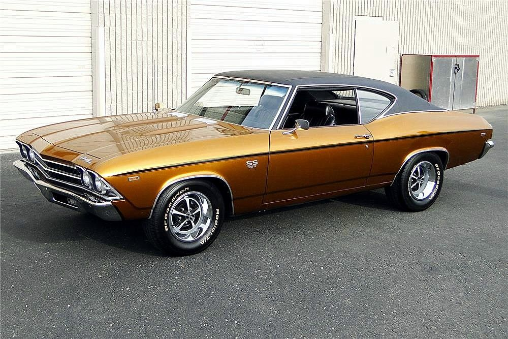 1969 Chevelle SS396. My first car, only in the ugliest