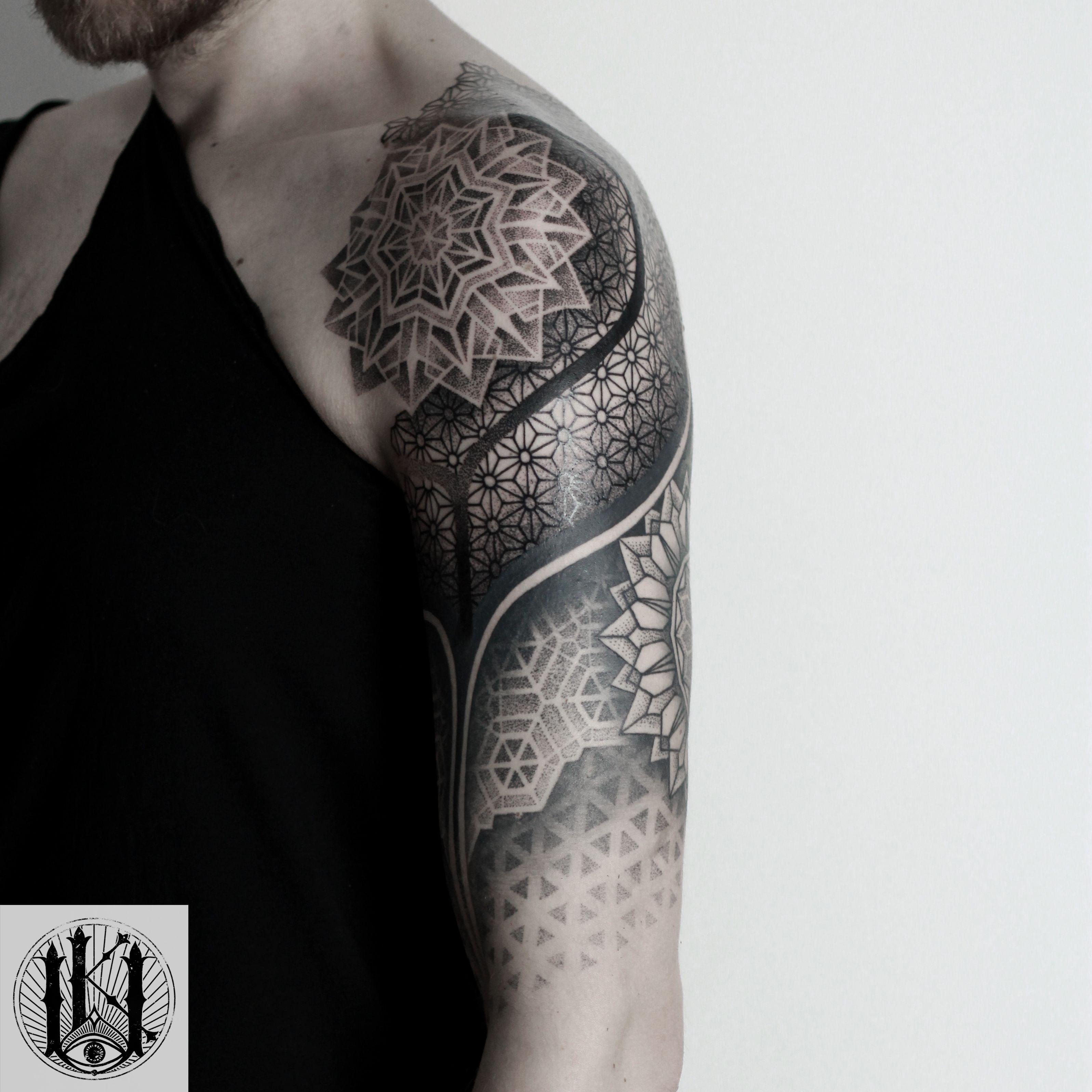 Tattoo Tatuaz Białystok Warszawa Warsaw Blackwork