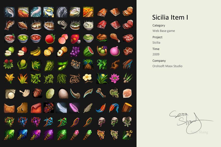 Sicilia Item Ii By Cseec On Deviantart Food Network Farmhouse Rules Game Design Mmorpg Games