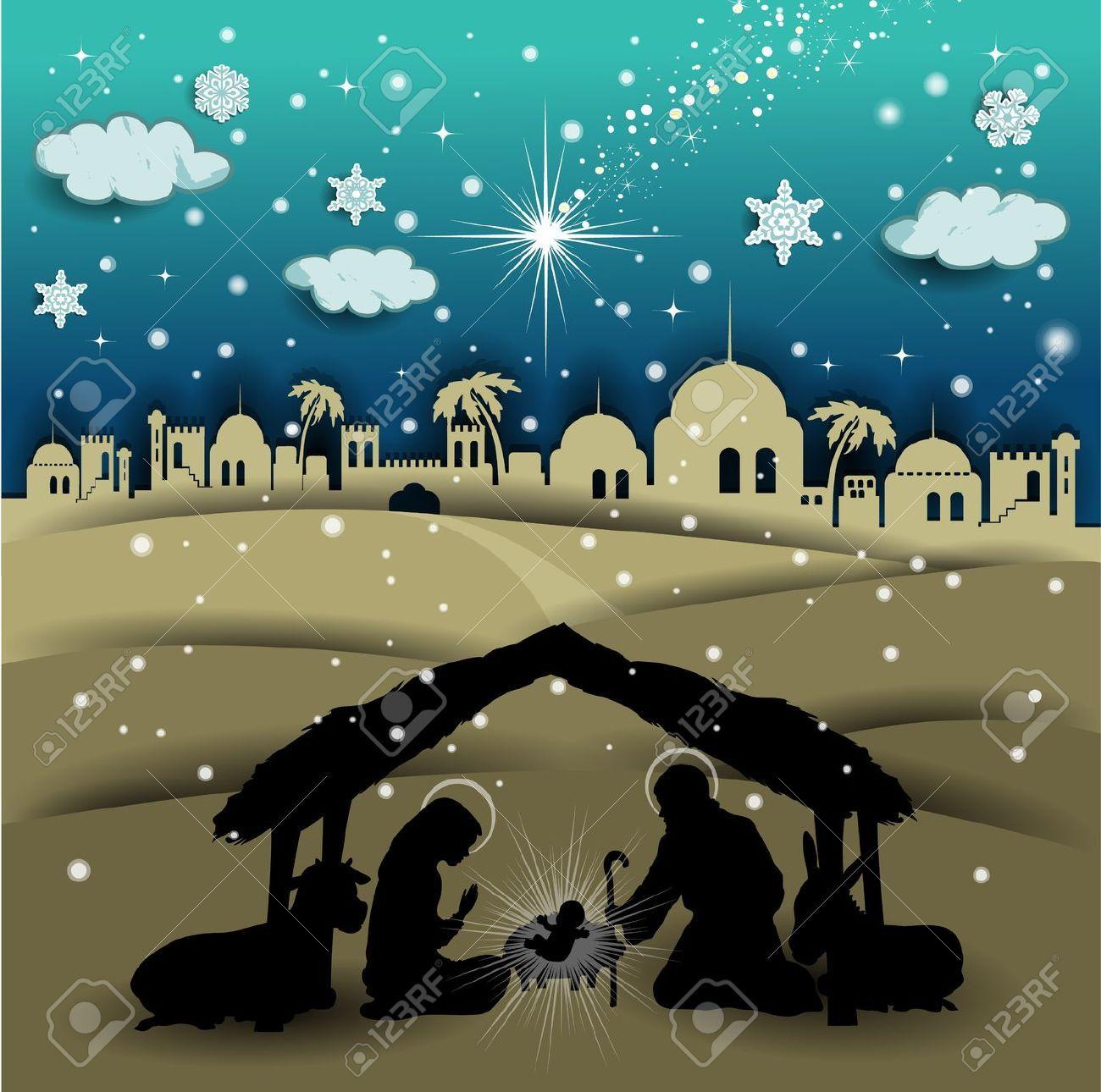 sfondo paesaggio presepe  Cerca con Google  natale  Christmas poems Christmas backdrops e Nativity