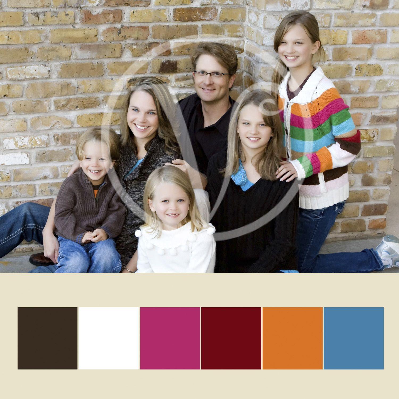 Fun color Family Color Palette