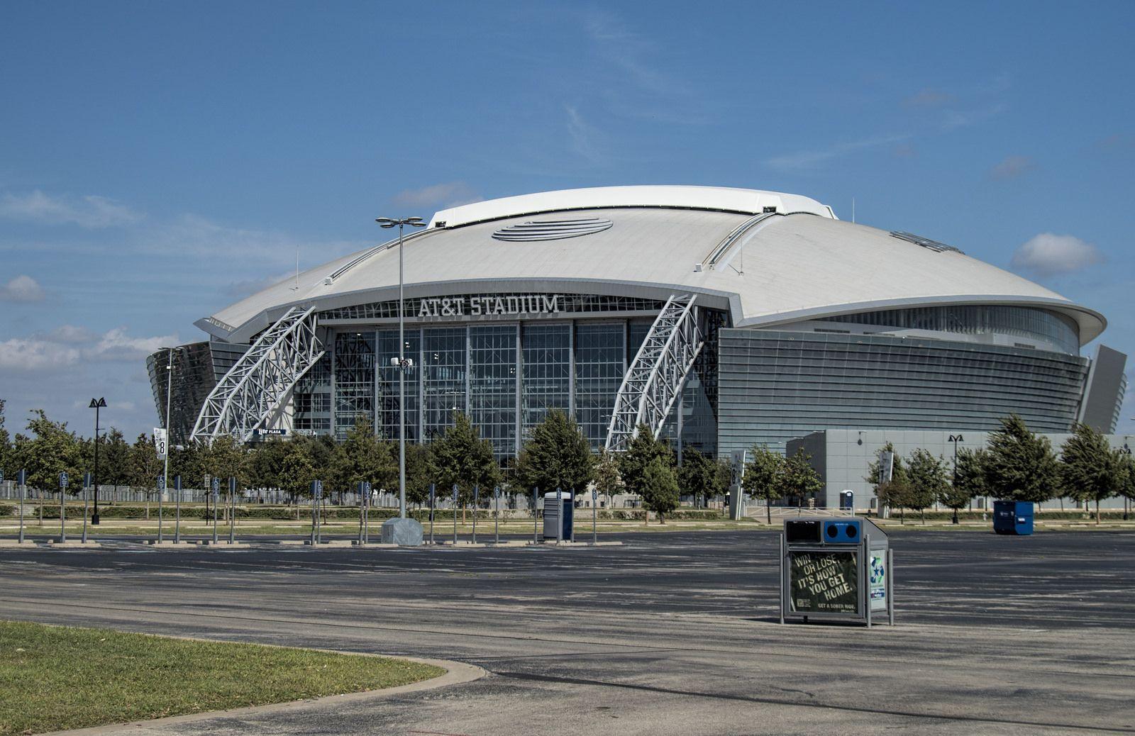 At T Stadium Cowboys Stadium Stadium Dallas Cowboys