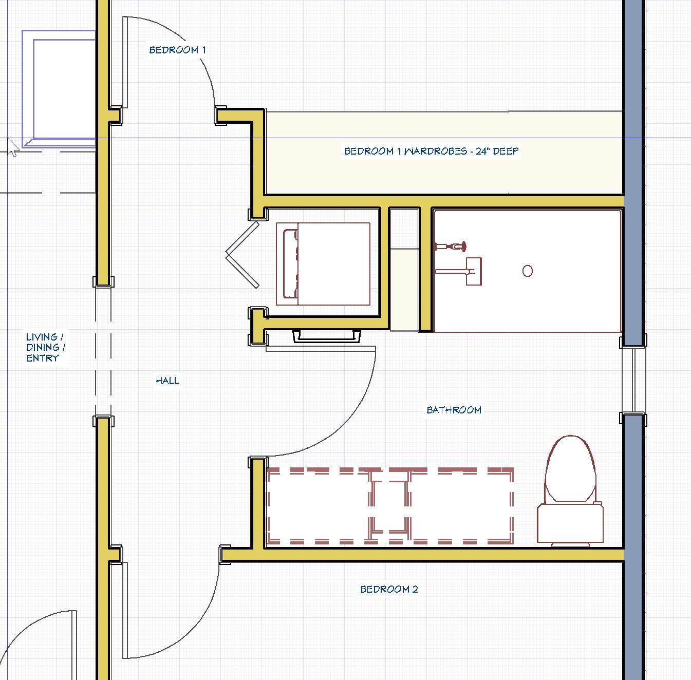 Whitecapecottage First Floor Bathroom Design Beginning In The Middle In 2020 Bathroom Design Bathroom Remodel Designs Renovation Design