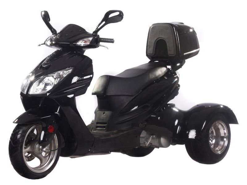 Eagle 150cc gas 3 wheel trike moped scooter ice bear eagle for 3 wheel motor scooter for sale