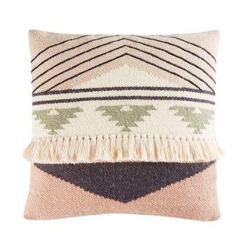 Coussin berbère en laine et coton 45x45 LE MONDE AMAZIGH